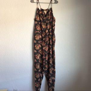 Ralph Lauren Denim Supply Floral Jumpsuit RARE